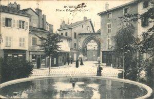 Bourg-en-Bresse Place Edgard-Quinet / Bourg-en-Bresse /Arrond. de Bourg-en-Bresse