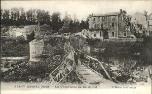Saint-Mihiel Passerelle de St.-Mihiel / Saint-Mihiel /Arrond. de Commercy