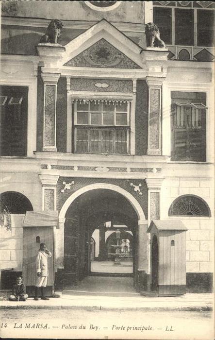 La Marsa Palais du Bey Porte principale