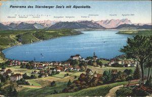 Starnbergersee Alpenkette / Starnberg /Starnberg LKR