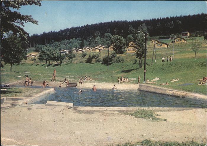 Orlicke Hory Ferienanlage Schwimmbad