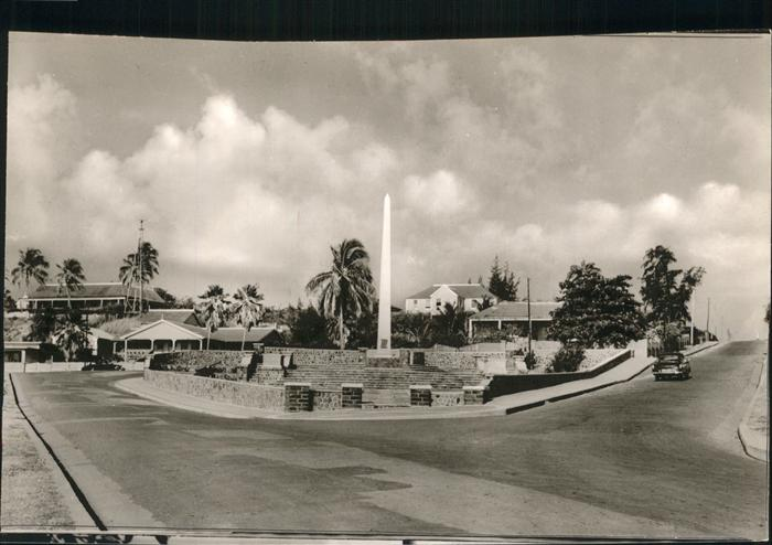 Saint Kitts Nevis New War Memorial Basseterre / Basseterre /