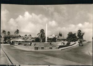 Saint Kitts Nevis New War Memorial Basseterre / Basseterre /