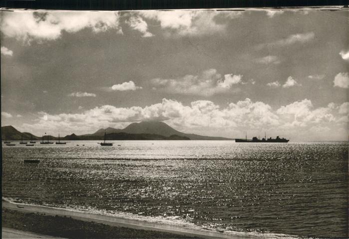 Saint Kitts Nevis Roadstead Basseterre / Basseterre /