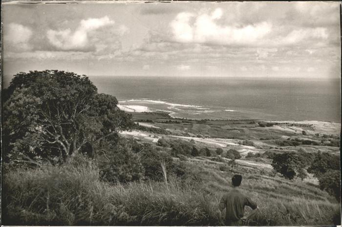 Saint Kitts Nevis Coast line Mount Misery / Basseterre /