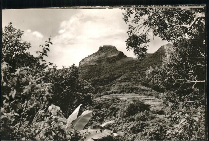 Saint Kitts Nevis The Peak  / Basseterre /