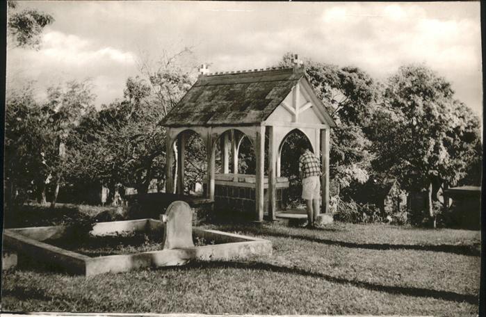 Saint Kitts Nevis Sir Thomas Warners Tomb Island Cemetery / Basseterre /