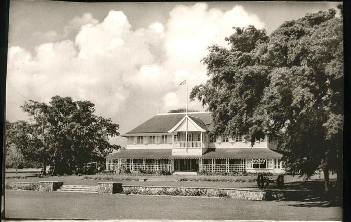 Saint Kitts Nevis Haus Flagge / Basseterre /