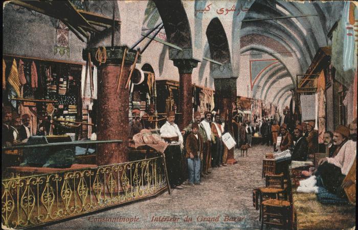 Constantinopel Istanbul Grand Bazar /  /
