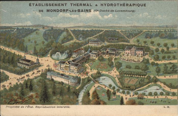 Mondorf-les-Bains Thermal Hydrotherapique