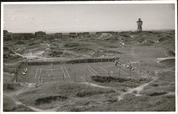 langegeoog Tennisplatz Kat. Wittmund