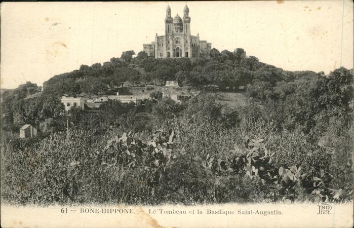 Bone-Hippone Le Tombeau Basilique Saint-Augustin