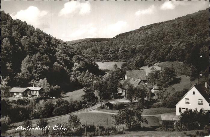 Antonslust Odenwald  / Eberbach /Heidelberg Stadtkreis