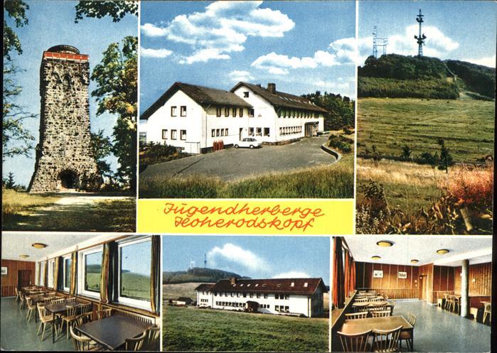 Hoherodskopf Vogelsberg Jugendherberge
