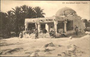 Tunesien Marabout dans l oasis Tunis