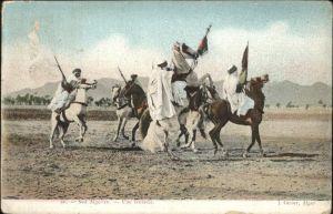Algerien Pferde Reiter Soldaten