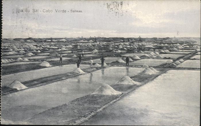 Ilha do Sal Cabo Verde Salinas