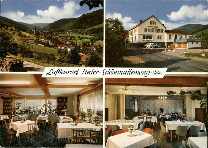 Unter Schoenmattenwag Gasthaus zur goldenen Krone