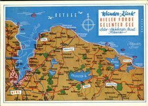 Kiel Wander-Karte Kieler Foerde /  /
