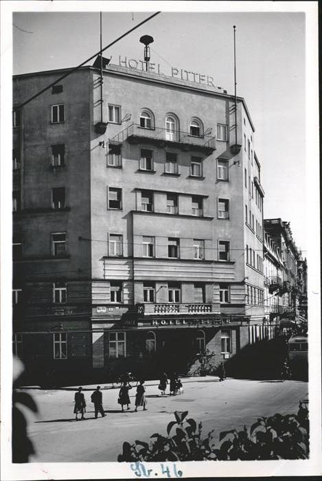 Salzburg Oesterreich Hotel Bitter Kat. Salzburg