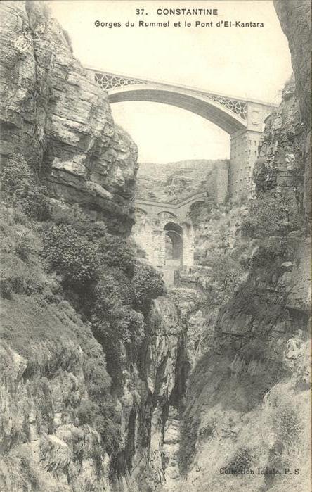 Constantine Gorges du Rummel et le Pont El Kantara 0
