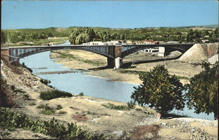 Orleansville Le Pont sur le Chelif Al Asnam