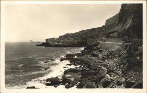Djidjelli Route de la Corniche entre Bougie et Djidjelli