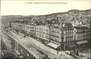 Alger Algerien Boulevard de la Republique et les Rampes / Algier Algerien /