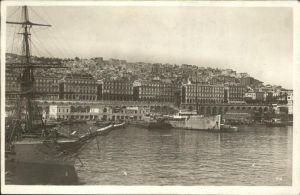 Alger Algerien Hafen Segelboot / Algier Algerien /
