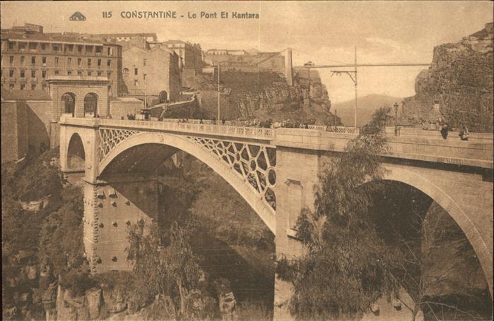 Constantine Le Pont El Kantara