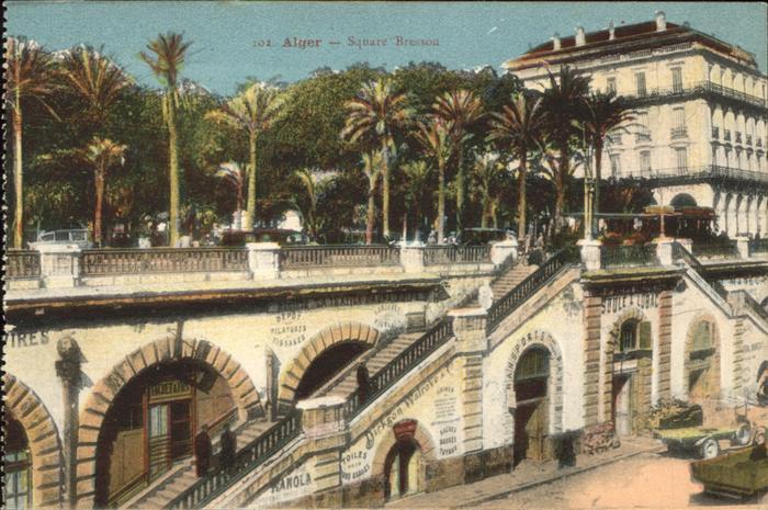 Alger Algerien Square Bresson / Algier Algerien /