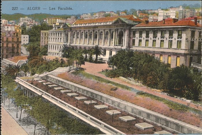 Alger Algerien Les Facultes / Algier Algerien /