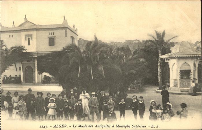 Alger Algerien Le Musee des Antiquites a Mustapha Superieur Pavillon / Algier Algerien /