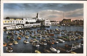 Alger Algerien L Amiraute Hafen Boote / Algier Algerien /