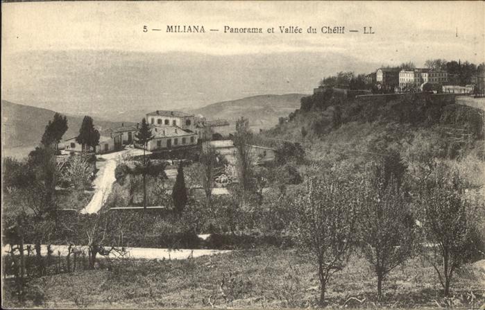 Miliana Panorama et Vallee du Chelif