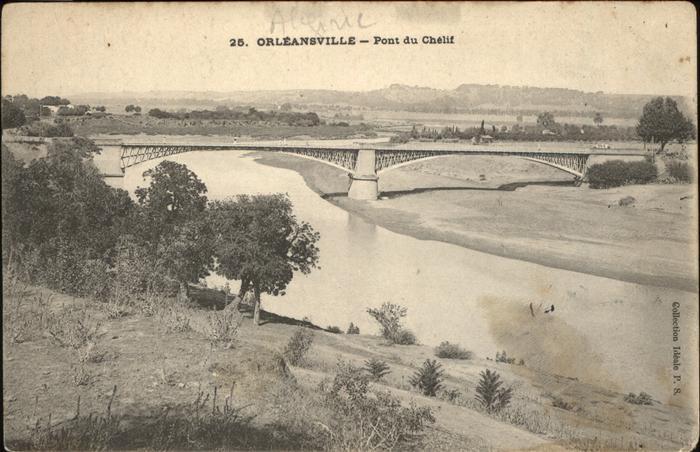 Orleansville Pont du Chelif Bruecke
