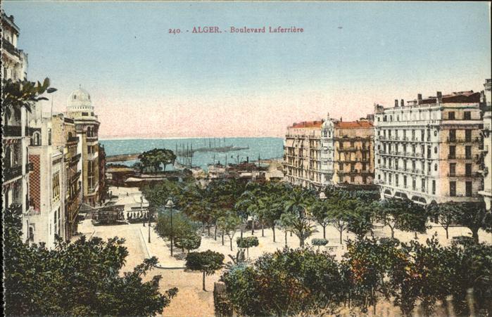 Alger Algerien Le Boulevard Laferriere / Algier Algerien /