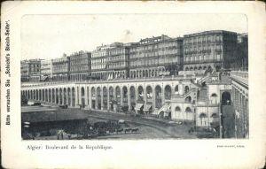 Alger Algerien Boulevard de la Republique / Algier Algerien /