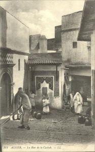 Alger Algerien Rue de la Casbah / Algier Algerien /