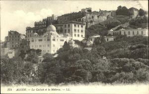 Alger Algerien La Casbah et la Medersa / Algier Algerien /