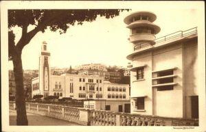 Philippeville Algerien Hotel de Ville et le Pavillon du Pilotage