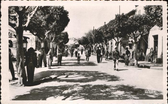 Nemours Algerie La Rue du Marche / Somalia /
