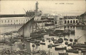 Alger Algerien L Amiraute Hafen Schiffe / Algier Algerien /