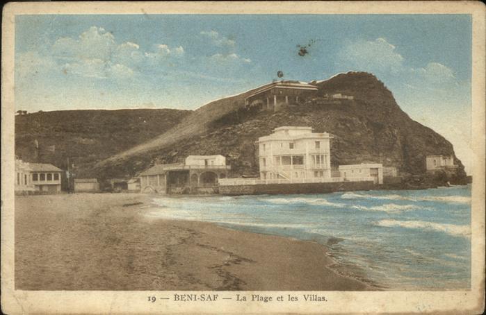 Beni Saf La plage et les villas