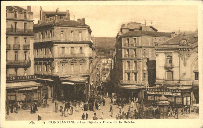 Constantine Place de la Breche les hotels
