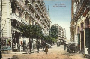 Alger Algerien Rue de Constantine Pferdekutsche / Algier Algerien /