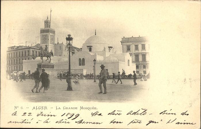 Alger Algerien La Grande Mosquee / Algier Algerien /