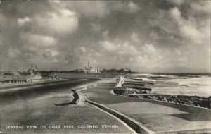 Colombo Ceylon Sri Lanka General View of Galle Face / Colombo /