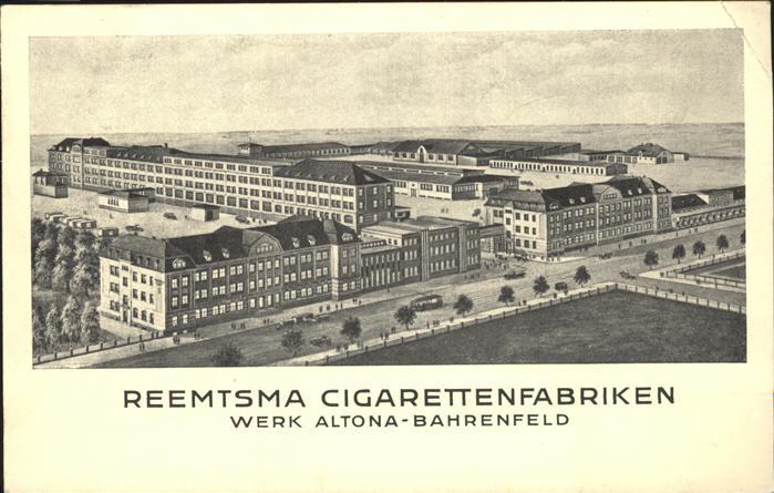 Altona Hamburg Reemtsma Cigarettenfabriken Werk Altona / Hamburg /Hamburg Stadtkreis