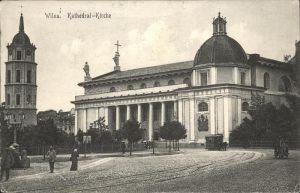 Wilna Kathedrale Feldpost